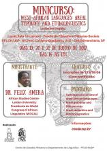 "Minicurso ""West African Languages: Areal Typology and Ethnolinguistics"""